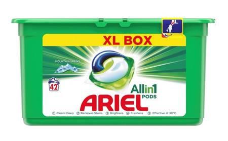 Ariel Caps All in One Kapsułki do prania 42szt. MOINTAIN SPRING