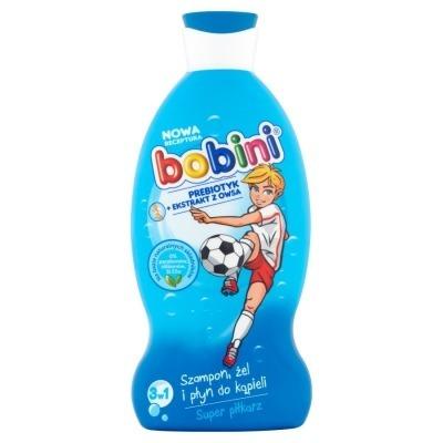 Bobini 3w1 Szampon/żel/płyn do kąpieli Super piłkarz 330ml