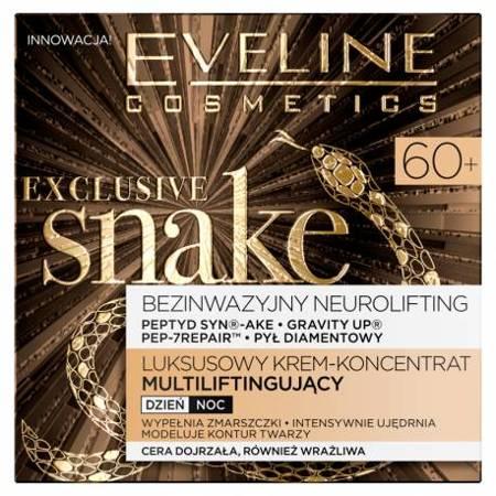 Eveline Exclusive Snake 60+ Krem multiliftingujący 50 ml